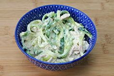 Creamy Tuna 2 Minute Zoodles Recipe + Video - Low Carb Ketogenic Diet Recipe