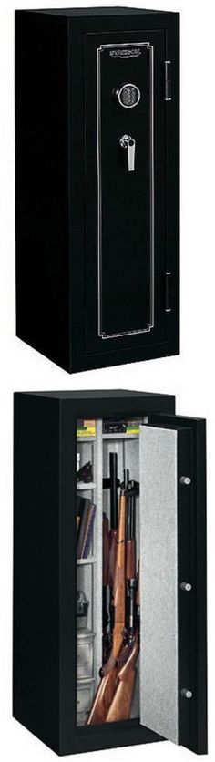 Cabinets And Safes 177877: Stack On Gun Safes And Vaults For Home 18 Steel Security  Cabinet Storage Rifle BUY IT NOW ONLY: $211.96 | Pinterest | Cabinet ...