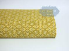Tissus japonais, Tissu japonais traditionnel Asanoha est une création orginale de DIY-District sur DaWanda