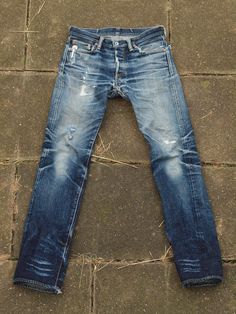 Iron Heart 666s 18oz Heavyweight Denim Championship - First 1st Place -Nietenhosen