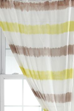 Magical Thinking Watercolor Curtain  #UrbanOutfitters  Make a shower curtain like this  love it!