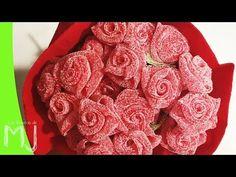 BÁSICOS | Cómo hacer rosas con golosinas - YouTube