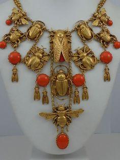 Antique Jewellereys: Egito  Gold,coral