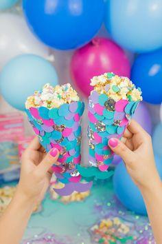 popcornt te ganz einfach selbst gemacht popcornt te in rosa popcornt ten selber basteln. Black Bedroom Furniture Sets. Home Design Ideas