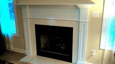 custom fireplace mantels and surrounds   The Buxton Custom Fireplace Mantel Surround by RedClayWoodworks
