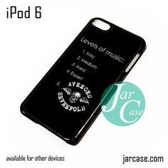 Avenged Sevenfold Fan Quotes 2 iPod Case For iPod 5 and iPod 6