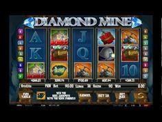 Diamond Mine - Online Slot from Castle Casino    http://www.castlecasino.com/online-slots/diamond-mine-slot