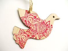 Handmade Nordic Dove Christmas