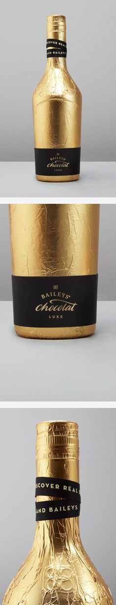 Bailey's Chocolat Luxe Packaging by Patrick Fry