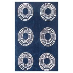 I pinned this Circles Rug from the Rug Market event at Joss and Main!