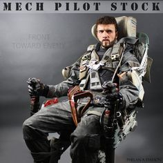 Mech Pilot STOCK III by PhelanDavion