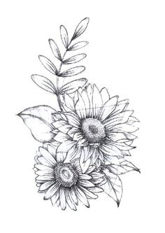 Drawing tattoo sunflower beautiful ideas Drawing Tips sunflower drawing Sunflower Tattoo Sleeve, Sunflower Tattoo Shoulder, Sunflower Tattoo Small, Flower Sleeve, Sunflower Tattoos, Sunflower Tattoo Design, Shoulder Tattoo, White Sunflower, Sunflower Art
