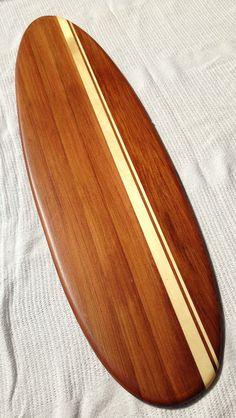 Reclaimed wood Surfboard wall hanger/coat rack by SCMKayaks, $53.00