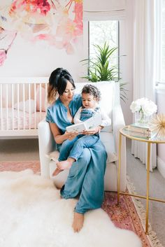 We know you watched Sister, Sister back in the day. One of the sisters is Tamera Mowry. View her gorgeous nursery for her baby girl, Ariah!