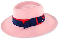 Maison Michel Charlotte felt trilby hat