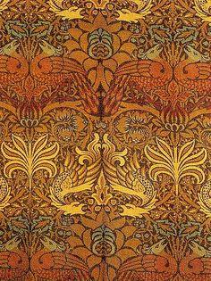 William Morris 'Peacock & Dragon' 1878