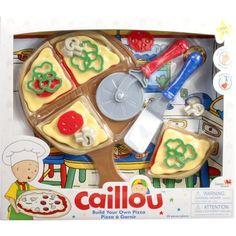Caillou Build Your Own Pizza Set - Walmart.com