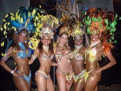 Carnivale, Samba, Sexy women, and outfits....Sounds like Brasil!