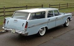 1959 Chrysler Windsor Town and Country Station Wagon