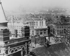 Bowdoin Square, 1929, gateway to the doomed West End beyond. Boston.