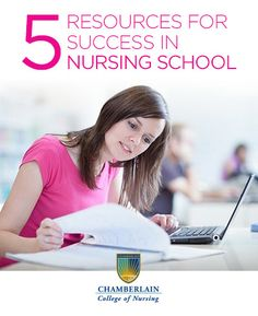 5 resources to aid your success in nursing school.