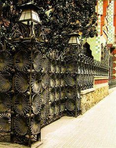 Gaudi. Barcelona, Spain. Casa Vicens (1883-1885)