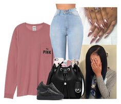 """"""""""" by kennisha84 ❤ liked on Polyvore featuring Victoria's Secret, Casetify, Maybelline, Beats by Dr. Dre, MICHAEL Michael Kors and Puma"""