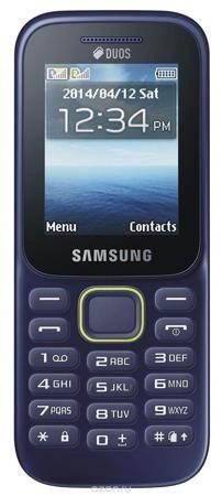 Samsung B310E, Blue  — 1790 руб. —  Поддержка двух SIM-карт Поддержка двух SIM-карт телефоном Samsung B310E дает возможность одновременно использовать два отдельных телефонных номера. Вы по достоинству оцените гибкость и улучшенные возможности коммуникации; кроме того, вы сможете разделить свои рабочие контакты от личных. Тонкий, эргономичный дизайн Привлекающая взгляд зеленая линия на эргономичном корпусе мобильного телефона Samsung B310E визуально разделяет фронтальную часть от тыльной…