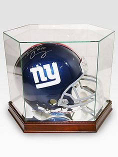 e23364c3454c94 Steiner Sports - Victor Cruz Autographed New York Giants Helmet for my NY  Big Blue Fans