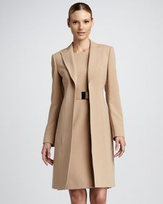 Dress And Long Jacket Sets - My Jacket