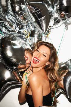 I want silver balloons for my birthday!