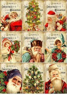 Vintage Christmas Images on Pinterest | Vintage Christmas, Christmas ...