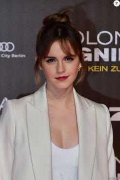Emma Watson lors de la première de Colonia à Berlin le 5 février 2016