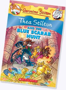 Thea Stilton #11: Thea Stilton and the Blue Scarab Hunt.