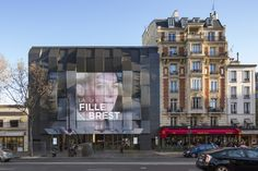 Completed in 2016 in Paris-14E-Arrondissement, France. Images by Luc Boegly, Guillaume Guerin. In 2011, the Gaumont-Pathé group decided to renovate the existing building in order to upgrade the cinemas and to improve user comfort.  This aim is...