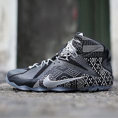 "A Closer Look at the Nike LeBron 12 ""Black History Month"" Nike Lebron, Nike Outlet, Me Too Shoes, Men's Shoes, Roshe Shoes, Nike Roshe, James Shoes, Air Jordan, Fashion Shoes"