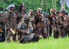 Orc army - Battle for Middle-earth LARP