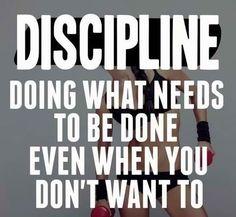 Fitness needs discipline. #quotes #fitspo #fitspiration