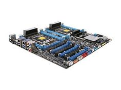 ASUS Z9PE-D8 WS Dual LGA 2011 Intel C602 SATA 6Gb/s USB 3.0 SSI EEB Intel Motherboard - $534