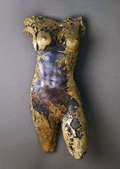 Carol Feuerman-Madonna (2002): Bronze, 31 x 16 x 5 inches, Private collection