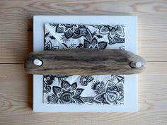 Handmade napkin holder minimal design practical useful gift