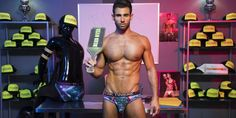 Pablo Hernandez would definitely get a hotness pepper on RateMyProfessor. He teaches Andrew Christian Twerk 101 to some fellow models in a new video put out by the company. Judging by the delicious video, it's clear he's passionate …  #andrewchristian #pablohernandez #malemodel