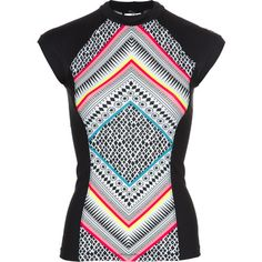 73fa206ea84 Rip Curl blessed the Women s Mystic Tribe Rashguard with magical chafe-free  comfort that keeps