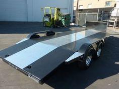 CA Custom Car Haulers & Trailers | Bear Trailersports Car Hauler Trailer, Trailer Plans, Trailers, Bend Tube, Tire Rack, Led Tail Lights, Ping Pong Table, Water Tank, Custom Cars