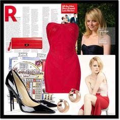 """Red!"" by austinjandrews ❤ liked on Polyvore"