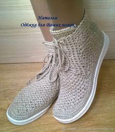 Купить Льняные ботиночки в интернет магазине на Ярмарке Мастеров