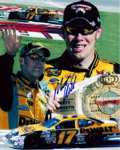 Price:       (adsbygoogle = window.adsbygoogle    []).push();  For your viewing pleasure: *AUTOGRAPHED* 2004 Matt Kenseth #17 DeWalt Racing LAS VEGAS WIN (UAW Daimler-Chrysler 400) 8X10 NASCAR Photo. This beautiful, glossy picture was hand-signed by Matt through a well-respected...