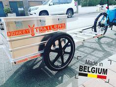 Aluminium box on a Donkey Trailer Bike Trailer, Cargo Bike, Donkey, Trailers, Antique Cars, Facebook, Box, Vintage Cars, Snare Drum