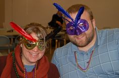 Celebrating Fat Tuesday at St. Mark's Lutheran Church, Sioux Falls, SD