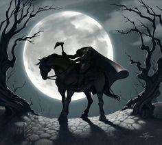 The moonlight & the Headless Horseman